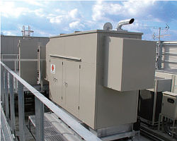 Tandem Generating Euipment Housing